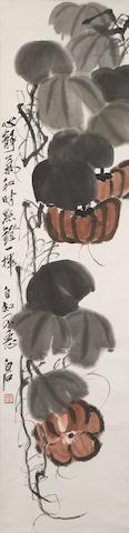 Qi Baishi (1863-1957) Pumpkins