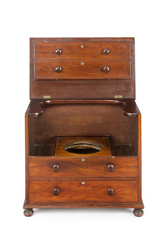 An Australian  cedar commode chestCirca 1835