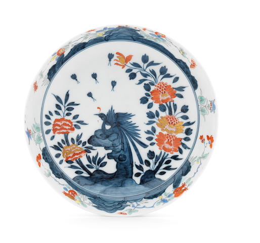 A rare Meissen shallow bowl, 18th century