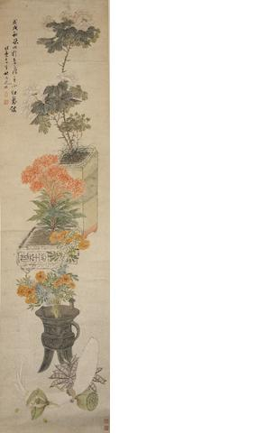 Yao Yuanzhi (1773-1852) Flowers and Vegetables