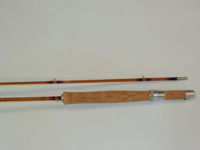 A Pezon and Michel 8ft. 'Parabolic Speciale Normale' trout fly rod