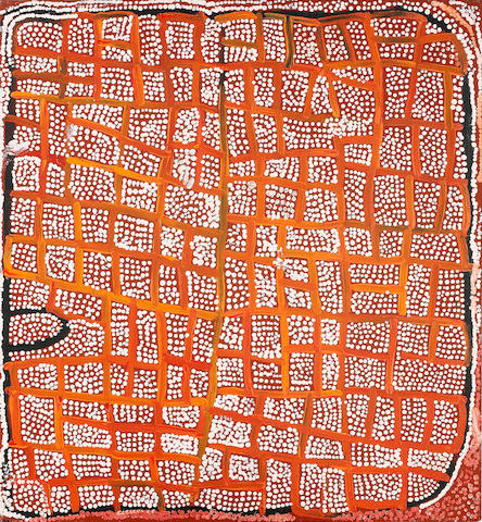 Naata Nungurrayi (born circa 1932) Untitled (Marrapinti)