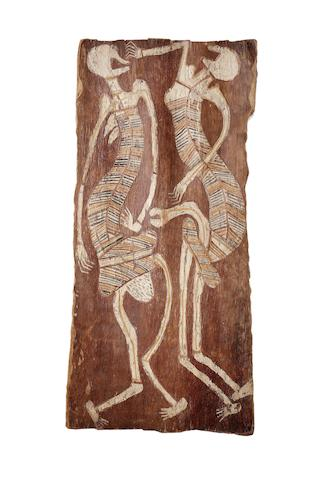 Paddy Compass Namatbara (circa 1890-1973) Untitled (Spirit Figures)