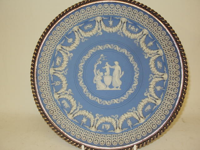 A Wedgwood Jasperware plaque