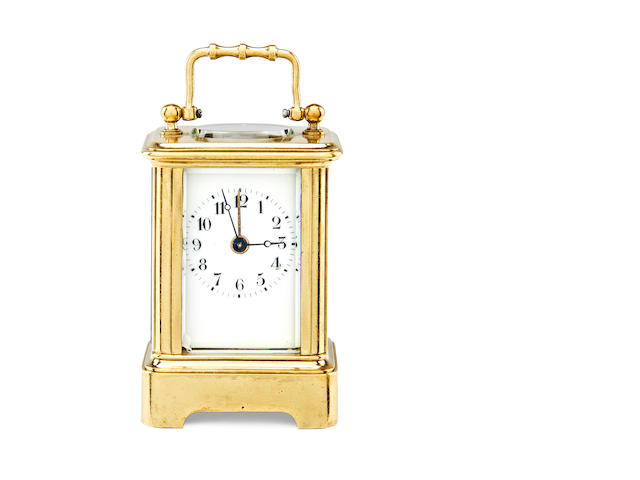 Mini carriage clock with alarm