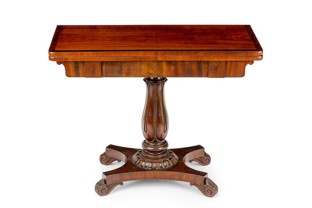 An Australian cedar tea table Circa 1835