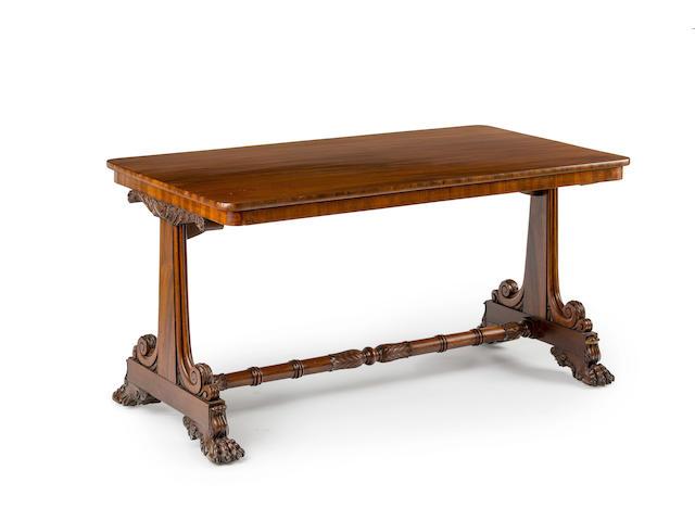 An Australian  cedar library table Circa 1830