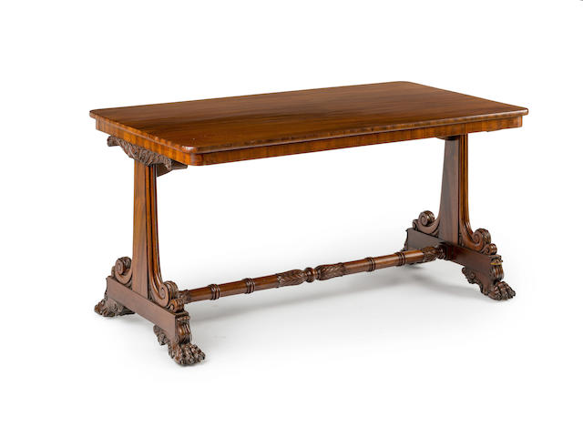An Australian  cedar library table Circa 1830