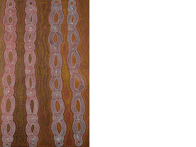 Mick Namarari Tjapaltjarri (circa 1926-1998) Untitled (Dingo Dreaming)