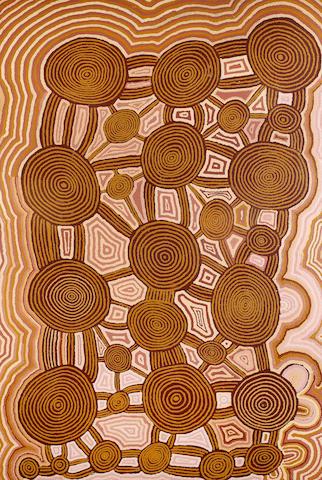 Fred Ward Tjungurrayi (born circa 1950) Untitled (Tingari Cycle)