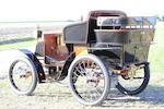 1900 Renault Type C 3½hp Rear-Entrance Tonneau  Chassis no. 110