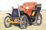 1900 Renault Type C 3 1/2hp Rear Entrance Tonneau  Chassis no. 110