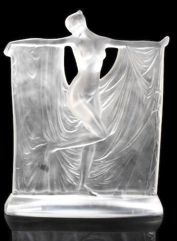 René Lalique 'Suzanne' a Statuette, design 1929