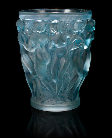 René Lalique 'Bacchantes' a Vase, design 1927