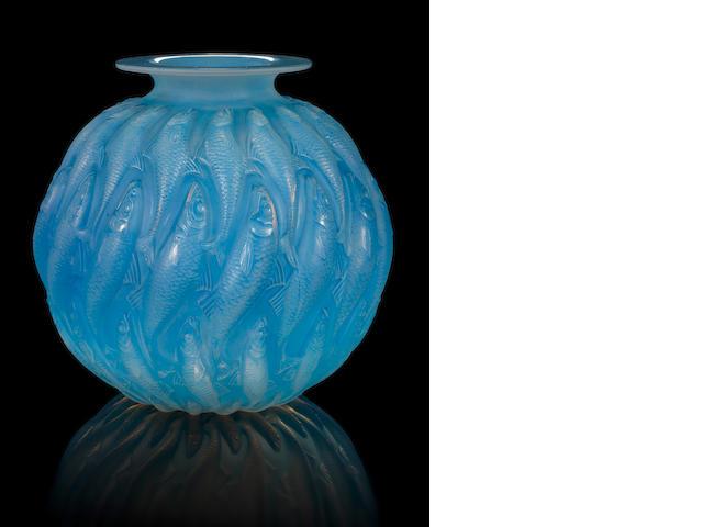 René Lalique  'Marisa' a Vase, design 1927
