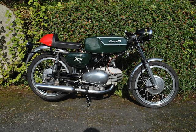 1968 Benelli Sprite 125cc (EUG 670F)