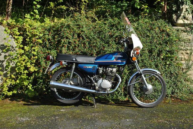 1980 Honda CG125 Frame no. CG1251139029 Engine no. CG125E1257541