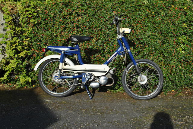 Honda Pedal & Pop Scooter (Blue)