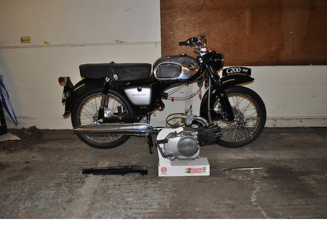 Honda C200 Restoration Project