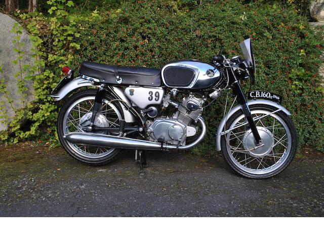 1966 Honda CB160 (HKT 83D)