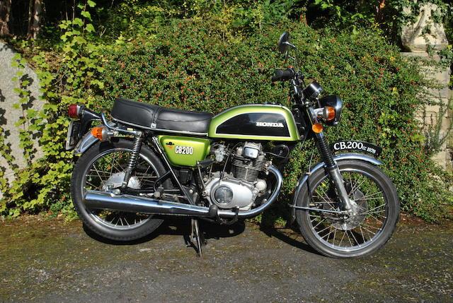 1978 Honda CB200