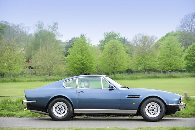 1987 Aston Martin V8 Series 5 Automatic Saloon  Chassis no. SCFCV81S6JTR/12582 Engine no. V/585/2582