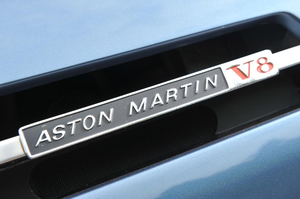 1987 Aston Martin V8 Series 5 Automatic Saloon  Chassis no. SCFCV81S6JTR/12582 Engine no. V/585/2582