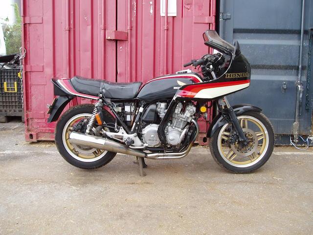 Honda 750cc CB750 F2 Frame no. RC04-4001193 Engine no. RC04E-2305352