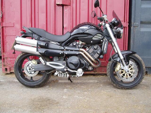 2007 Voxan 996cc Street Scrambler Frame no. VN4SS080271000273 Engine no. V2A082170273