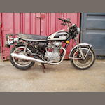c.1977 Yamaha 650cc X5650 Frame no. 447-301370 Engine no. 447-301370