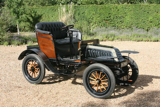 1903 De Dion Bouton Model Q 6hp Victoria Two Seater