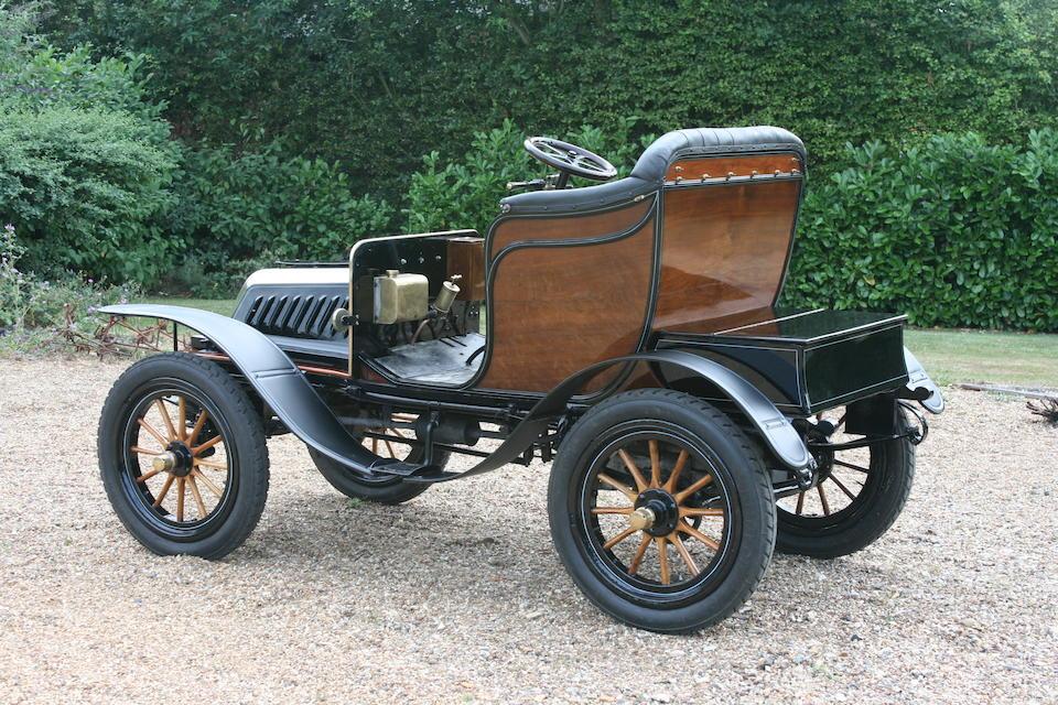 1903 De Dion Bouton Model Q 6hp Two-Seat Victoria  Engine no. 11374