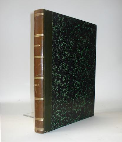 Omnia - Revue Pratique de Locomotion; bound volume 1907-1908,