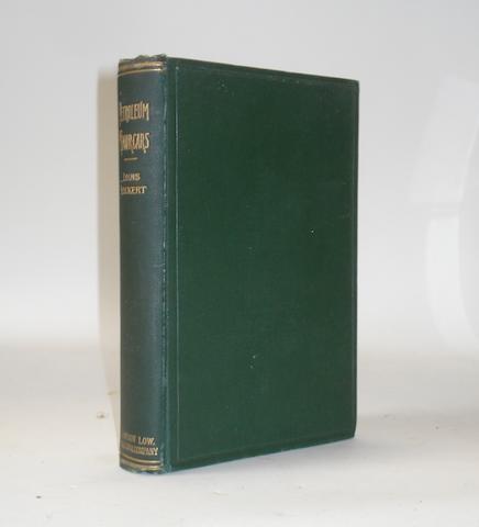 Louis Lockert: Petroleum Motor-Cars; 1898,