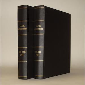 La Vie Automobile; two bound volumes for 1904,
