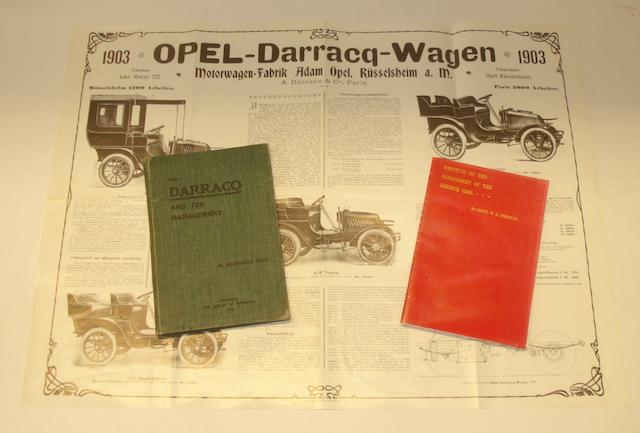 Archibald Ford: The Darracq and its Management; 1904,