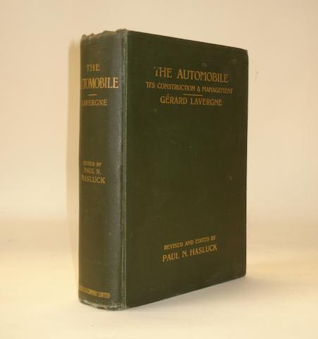Gerard Lavergne: The Automobile - Its Construction & Management; 1902,