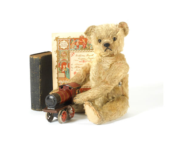 Bing Teddy bear with provenance, circa 1910