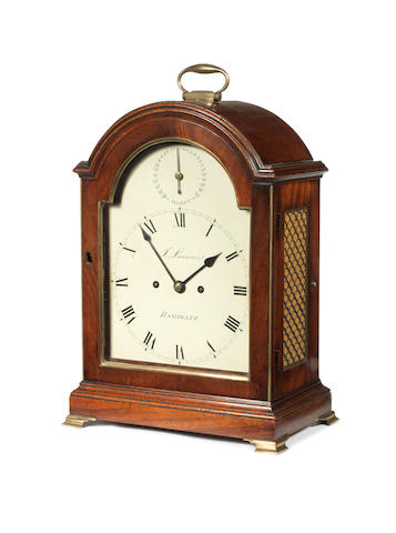An S/S mantle clock, by Lowman Ramsgate