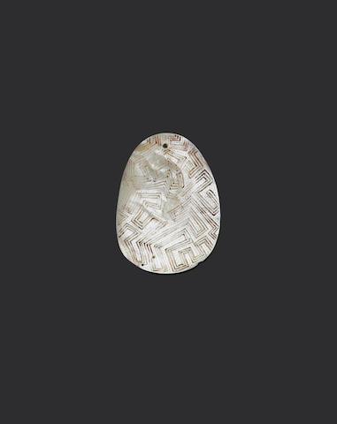 Two Engraved Pearl Shells, Western Australia, Riji, Jakoli