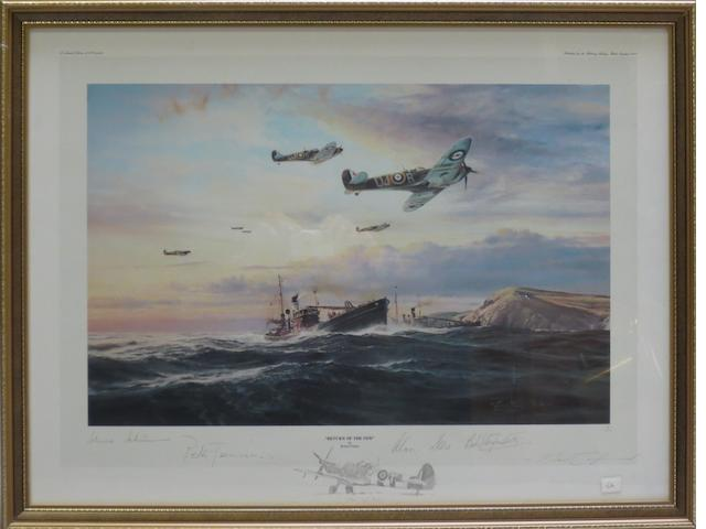 'Return of the Few', a signed limited edition print after Robert Taylor,