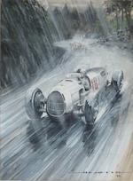 Nicholas A. Watts (1947-), 'Through The Spray',