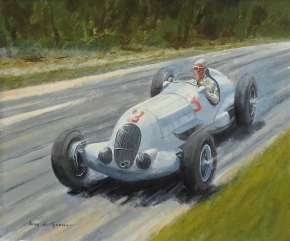 Max de Guerre, 'Richard Seaman - 1937 Mercedes-Benz W125',