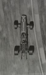 Eight prints depicting Jim Clark,