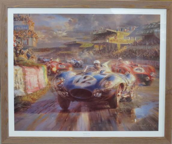 'Should Have Won', a limited edition print after Alfredo de la Maria,