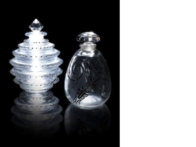 René Lalique for Delettrez 'Inalda' a Perfume Bottle and Stopper, design 1930