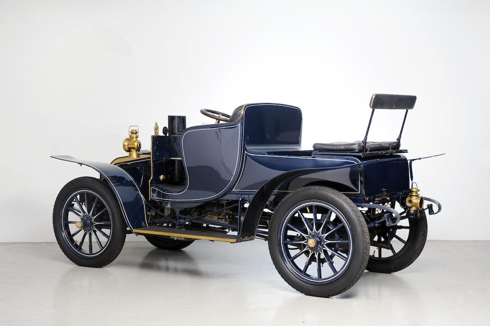Single family ownership from new, sole surviving example,1904 Wilson-Pilcher 12/16hp Four-Cylinder Four-seat Phaeton  Chassis no. 52 Engine no. 12