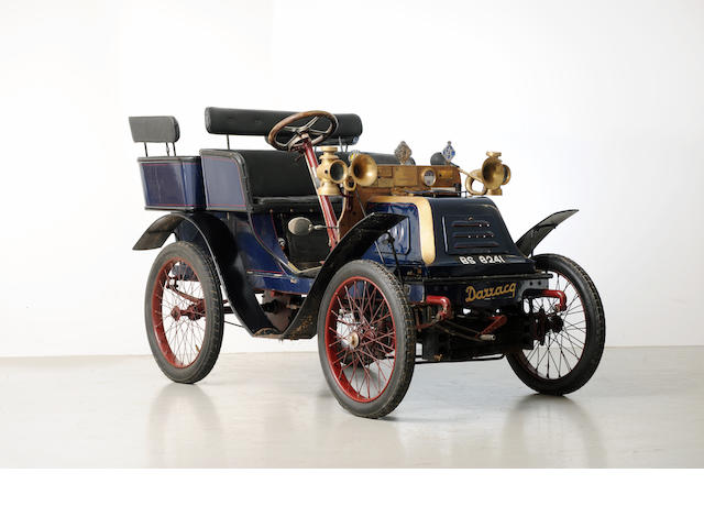 1901 Darracq 6.5hp Rigid-Body Tonneau