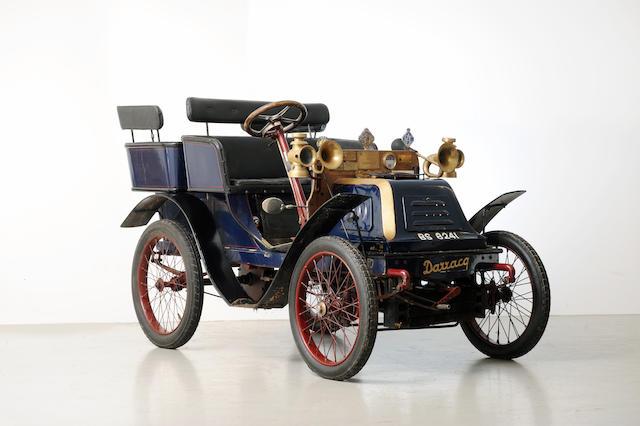 1901 Darracq 6.5hp Rigid-Body Tonneau