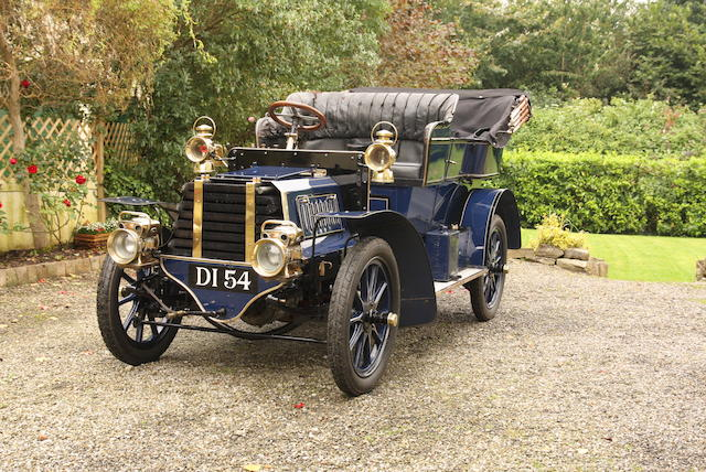 1903 Gladiator 10hp Twin-Cylinder Side-Entrance Tonneau, Chassis no. 7925 Engine no. 7925